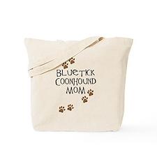 Bluetick Coonhound Mom Tote Bag