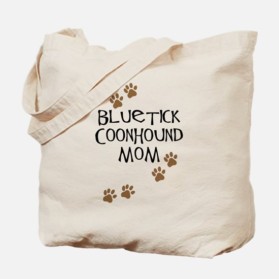 Bluetick Coonhound Mom Tote Bag