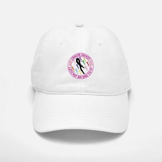 Cancer Sucks Baseball Hat