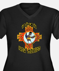 VIVA NEW MEXICO WITH RANDY ROADRUNNER Plus Size T-
