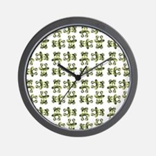 CAMO TEDDY Wall Clock