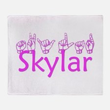 Skylar Throw Blanket