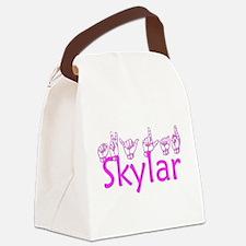 Skylar Canvas Lunch Bag