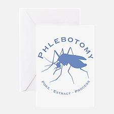 Phlebotomy / Poke Greeting Card