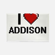 I Love Addison Magnets