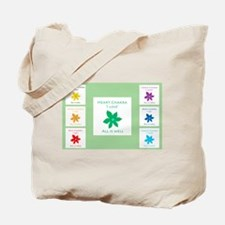 All Is Well Chakra Flower G Tote Bag