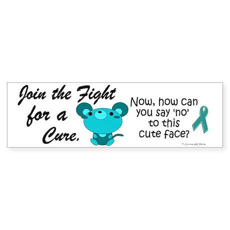 Teal Mouse 3 (OC) Bumper Sticker