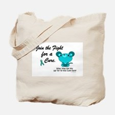 Teal Mouse 3 (OC) Tote Bag