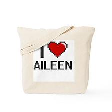 Unique I love aileen Tote Bag