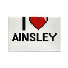 I Love Ainsley Magnets