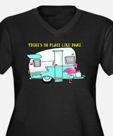 There's No Place Like Home Plus Size T-Shirt