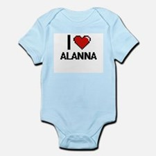 I Love Alanna Body Suit