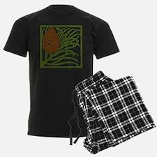 Giant Pine Cone Color Pajamas