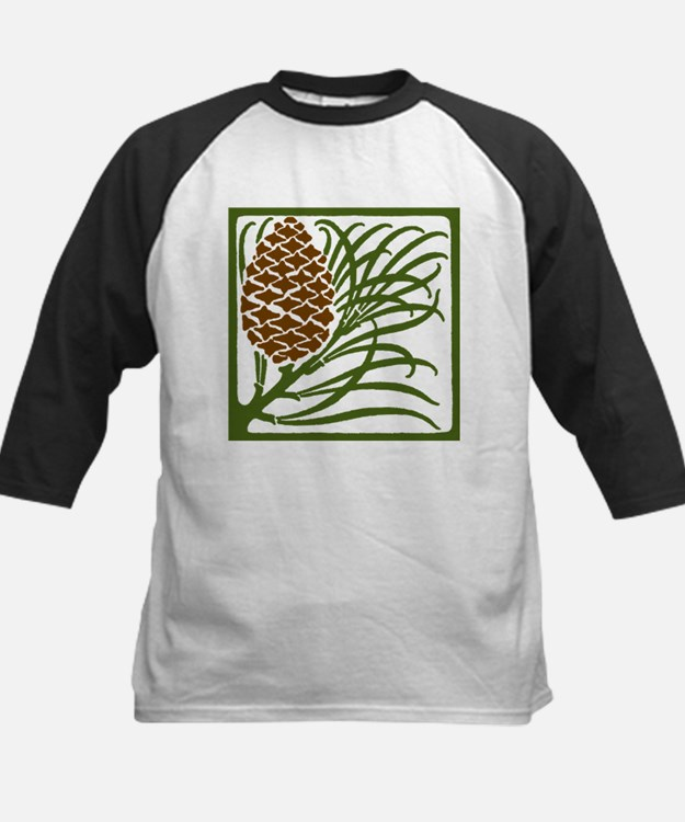 Giant Pine Cone Color Baseball Jersey