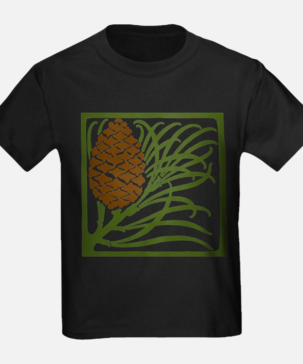 Giant Pine Cone Color T-Shirt