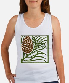 Giant Pine Cone Color Tank Top
