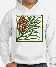 Giant Pine Cone Color Hoodie