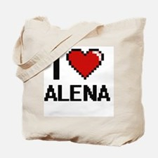 I Love Alena Tote Bag