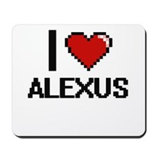 I Love Alexus Mousepad
