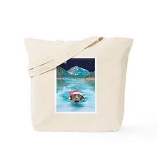 Christmas swim Tote Bag