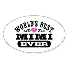 World's Best Mimi Ever Decal