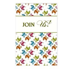 JOIN US! Postcards (Package of 8)