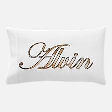 Gold Alvin Pillow Case