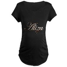 Gold Aliza Maternity T-Shirt