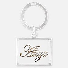 Gold Aliza Keychains