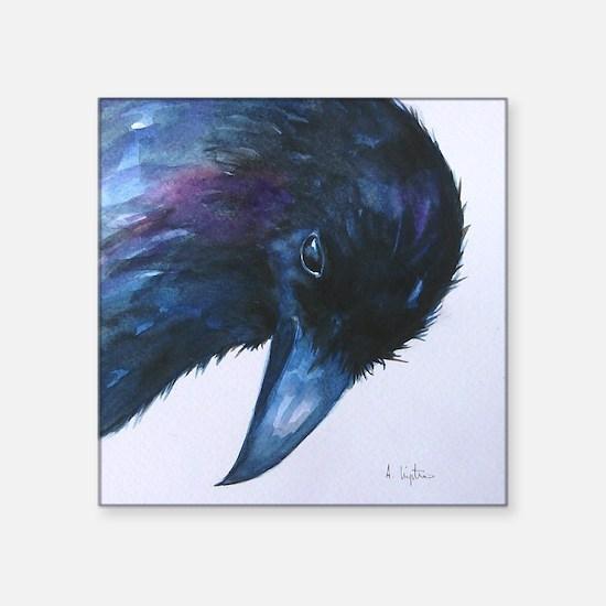 Curious Crow Sticker