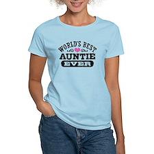 World's Best Auntie Ever T-Shirt