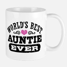 World's Best Auntie Ever Mug