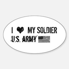 U.S. Army: I Love My Soldier Decal