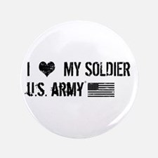 U.S. Army: I Love My Soldier Button