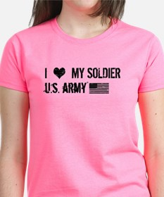 U.S. Army: I Love My Soldier Tee