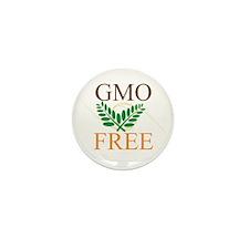 GMO Free Mini Button (10 pack)