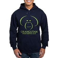 Orangutan Ssp Logo Hoody -Green Logo