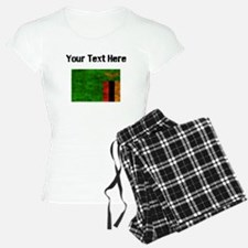 Distressed Zambia Flag (Custom) Pajamas