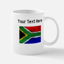 Distressed South Africa Flag (Custom) Mugs