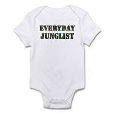 Everyday Junglist (Black Border) Infant Bodysuit
