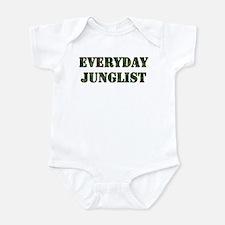 Everyday Junglist (Black Border) Infant Bodysuit