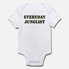 Everyday Junglist (Black Border) Onesie