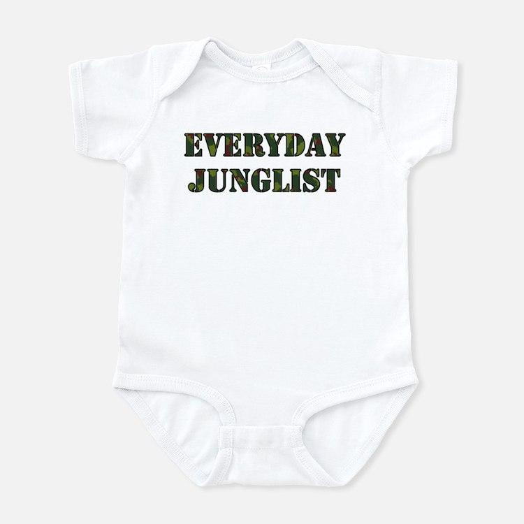 Everyday Junglist (Black Border) Onesie