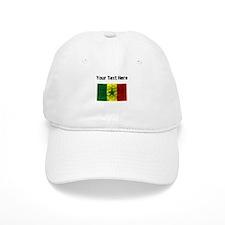 Distressed Senegal Flag (Custom) Baseball Baseball Cap
