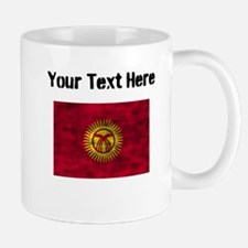 Distressed Kyrgyzstan Flag (Custom) Mugs