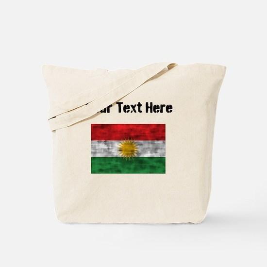 Distressed Kurdistan Flag (Custom) Tote Bag