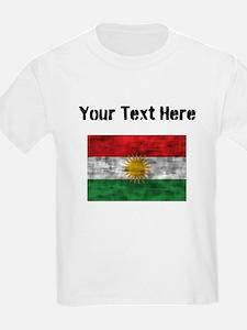 Distressed Kurdistan Flag (Custom) T-Shirt