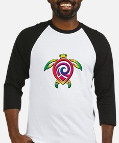 Rainbow Sea Turtle Baseball Jersey
