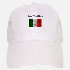 Distressed Italy Flag (Custom) Baseball Baseball Baseball Cap