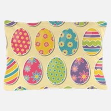 Easter Eggs Pillow Case